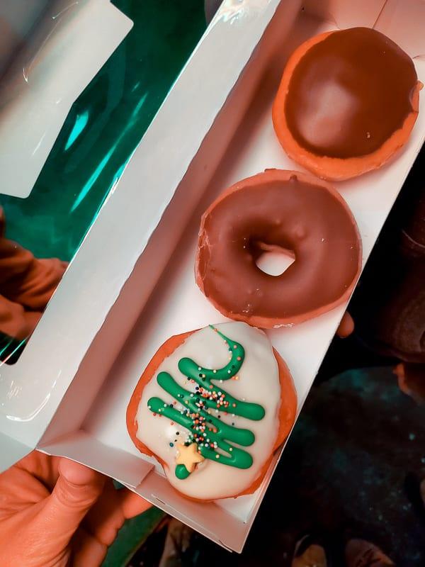 Krispy Kreme doughnuts PErson St Raleigh