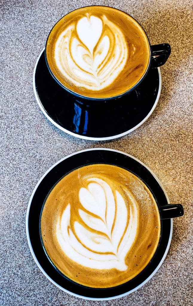 BREW coffee shop in downtown Cary, North Carolina