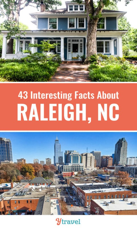 If you are planning on moving to Raleigh, or visiting Raleigh, check out this list of 43 fun facts about Raleigh, North Carolina and the most frequently asked questions about Raleigh NC. Don't visit Raleigh before reading these Raleigh travel tips and all about living in Raleigh