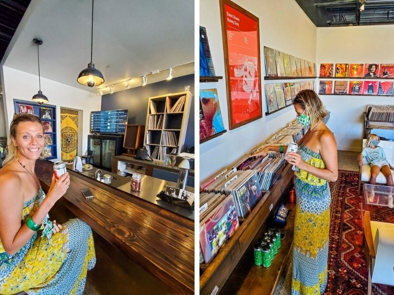 Hunky Dory Records in Seaboard Station, Raleigh, NC