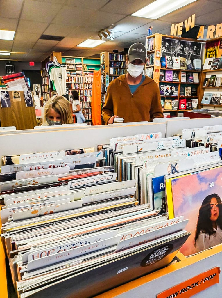 Cool Raleigh record shop near NC State
