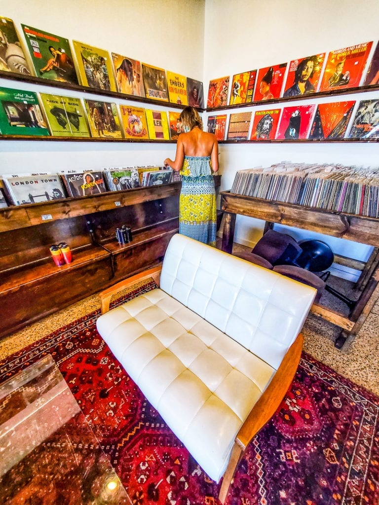 Hunky Dory Records in Seaboard Station