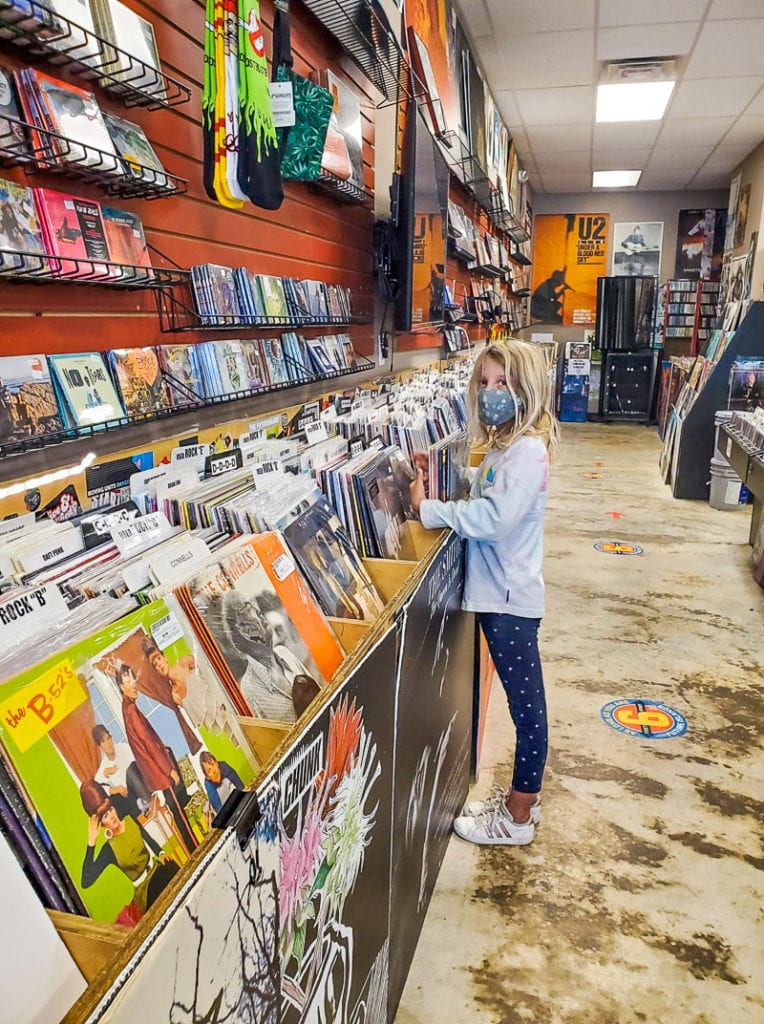 Even our kids like SchoolKids Records store!