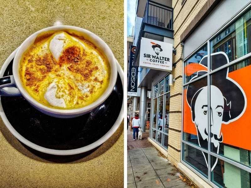 Sir Walter Coffee Shop, Raleigh, NC