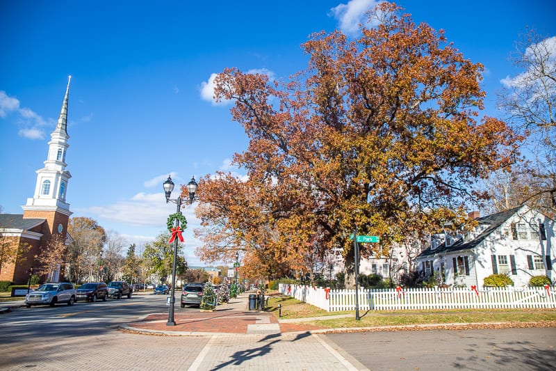 South Academy Street, downtown Cary