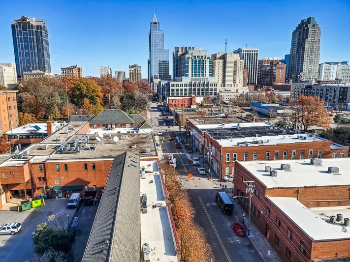 Warehouse District Raleigh