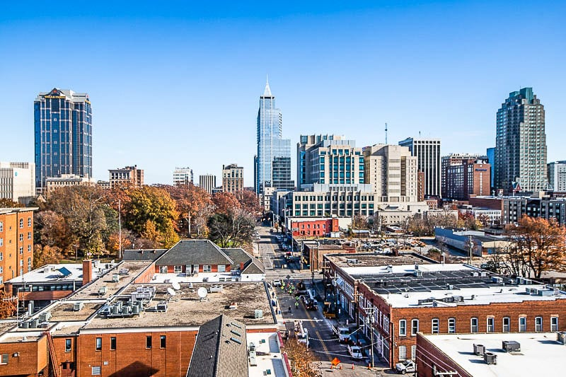 The Warehouse District, Raleigh