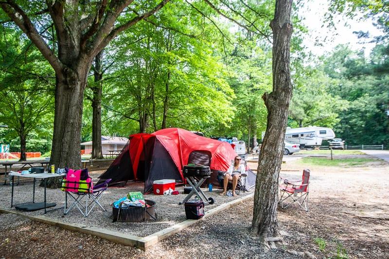 kerr lake camping 8