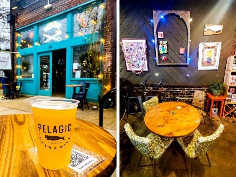 Pelagic bar, Raleigh