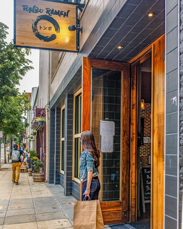 Tonbo Ramen, Raleigh